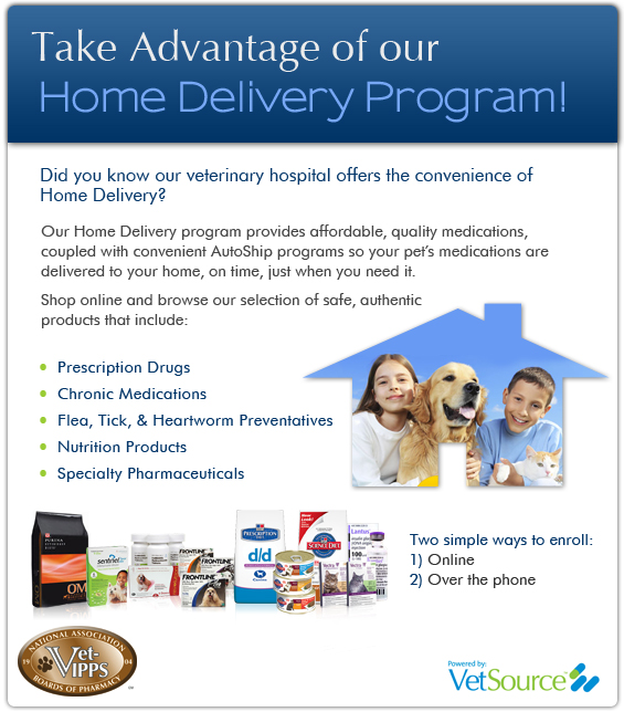 vetmobile home delivery pharmacy link